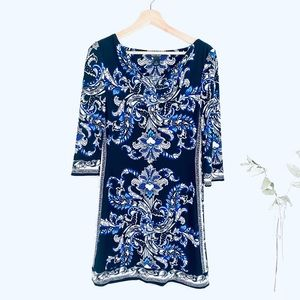 White House Black Market Floral Dress, S